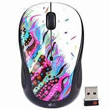 Logitech M325 Wireless Optical Mouse -  Celebration Black