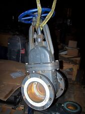 """NIBCO 6"""" FLANGED CAST IRON GATE VALVE 125 SWP 200 WOG"""