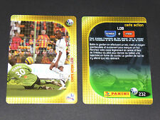 KALOU PARIS SAINT-GERMAIN PSG CARTE ACTION PANINI FOOTBALL CARD 2006-2007