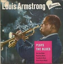 LOUIS ARMSTRONG Plays the blues GERMAN EP BRUNSWICK 1961