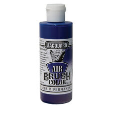 Jacquard Air Brush Colours Paint for Shoes / Sneakers - Bright Blue - 4oz