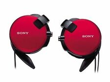 NEW  SONY MDR-Q68LW Red In-ear Headphones