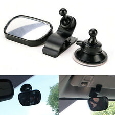 Car Safety Easy View Back Seat Suction Mirror Baby Care Rear Ward Adjustable #P