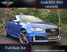 Audi RS3 5 Door Body Kit for Audi A3 8V 2012 onwards Conversion