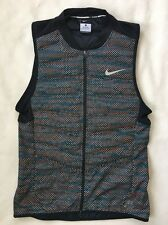 Nike Mens 800 Aeroloft Flash Reflective Running Vest SIZE SMALL 689168 011 NEW