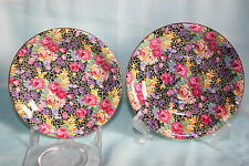 Gorgeous Vintage Royal Winton china chintz lot of 2 saucers only - Hazel