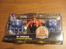 Sonic 20th Anniversary Action Figure 2008 Dr. Eggman Robotnik Egg Fighters Toy