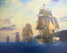 Geoff Hunt Limited Edition Print - H.M.S. Agamemnon
