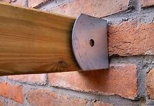 Staffa da parete per travi 90x90, portapilastro da muro, supporto per morali
