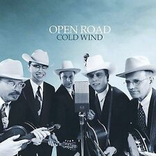 Lot of 2 bluegrass cds Open road in the life - open road cold wind