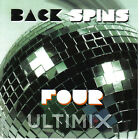 Back Spins 4 CD Ultimix Records Journey,The Cars,Bryan Adams,Laura Branigan