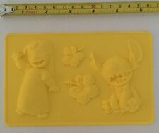Silicone Lilo and Stitch chocolate / icing mould
