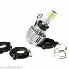 Super Brite LED White Multifit/Most Motorcycle/Car/Headlight Hi/Lo/3000L