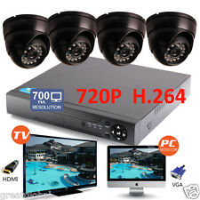 8CH HDMI DVR Video 700TVL CCTV CMOS IR Home Surveillance Security Camera System