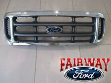 99 thru 04 Super Duty F250 F350 F450 F550 OEM Genuine Ford Chrome Grille Grill