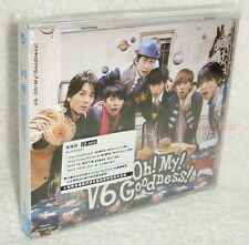 V6 Oh! My! Goodness! 2013 Taiwan Ltd CD only +special booklet