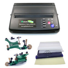 Pro Tattoo Thermal Transfer Copier Machine Stencil Flash Print 25Pcs Papers