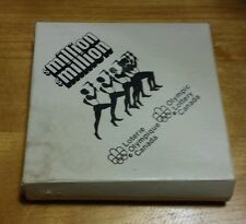Vintage Montreal 1976 Olympic Game . 3 coasters with box .
