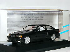 Minichamps 22301 BMW E36 M3 Coupe Diamond Black Metallic 1/43