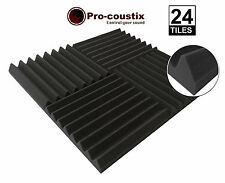 Genuine Pro-coustix Ultraflex Wedge High Quality Acoustic foam tiles 24 panels