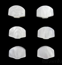 Acrylic buttons only Fit Gotoh Machine Head tuner White button 6p FR18W