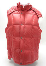 LEVI'S VINTAGE WOMENS PUFFER VEST - 100% DOWN, IN CORRAL in EUC