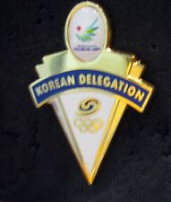 NEW 2014 South Korea  Olympic NOC Internal team delegation Incheon pin #2