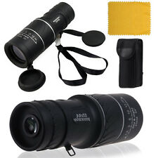 NEW 30x52 HD Optical Monocular Day&Night Vision Hunting Camping Hiking Telescope