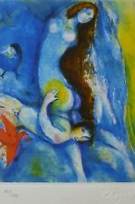 MARC CHAGALL ARABIAN NIGHTS 1985 HAND NUMBERED 209/333 LITHOGRAPH M 38