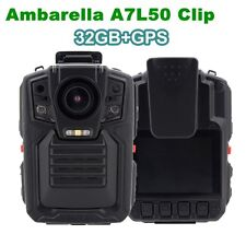 1296P 32G Infrared Night Vision GPS Police Body Worn Video Camera Security Cam