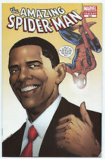 Amazing Spider-Man #583, 2nd Print Obama Cover, Marvel Comics