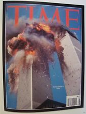 SEPTEMBER 11 2001 WTC 911 PHOTO SPECIAL TIME MAGAZINE COVER PAGE NOT MAGAZINE