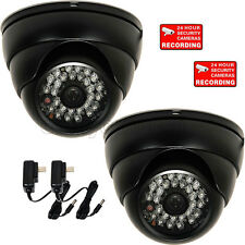 Dome IR Security Camera Outdoor Night Wide Angle Surveillance w/ SONY Effio a88