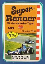 Quartett - Super Renner - BIELEFELDER SPIELKARTEN - Nr. 0291 - Auto - Joker
