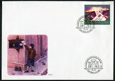 Latvia 2013 Literature First Day Cover New FDC History of Post