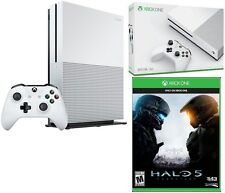 Microsoft Certified Xbox One S 500GB Slim 4K Ultra HD HDR Game Console w/ Halo 5
