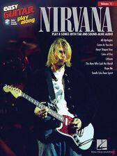 Play-a lo largo de Nirvana aprender a tocar música Guitarra Fácil Para Principiantes Libro de audio en línea