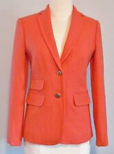 J Crew Hacking Jacket in Double Serge Wool 6 Autumn Coral