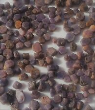 200 Carats Purple Violet Sapphire Rough Hexogonal Crystals + Free Cab