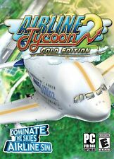 AIRLINE TYCOON 2 GOLD EDITION PC DVD-ROM NEW & FACTORY SEALED