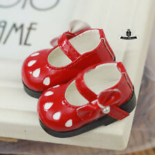 Yosd Shoes 1/6 BJD Shoes Dollfie DIM Lolita red Shoes AOD DOD Luts Dollmore DZ