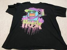 Black DOMO Fresh Hip Hop Rapper T Shirt Mens Size XL RARE
