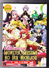 *NEW* MONSTER MUSUME NO IRU NICHIJOU *12 EPS*ENGLISH SUBS*ANIME DVD*US SELLER*