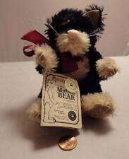 """Boyds Bears Quayle D. Cattington - Jointed Mohair Cat 7"""""""