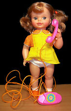 Beautiful 1971 Mattel Hi Dottie Doll - All Original with Her Phone - VGC