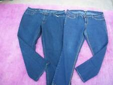 LOT OF WOMENS PLUS SZ 20 W JEANS THE AVENUE & BONGO CUTE EUC