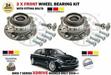 FOR BMW 730D 740D 750 XDRIVE MODELS ONLY 2009-  2 X FRONT WHEEL BEARING HUB KITS