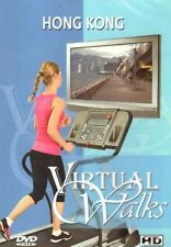 HONG KONG VIRTUAL WALK WALKING TREADMILL WORKOUT DVD AMBIENT COLLECTION NEW