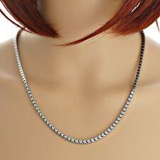 Halskette aus Edelstahl 50cm 3mm Edelstahlkette stylische Kette