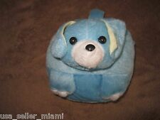 New Cute Blue Puppy Bark Dog CD DVD Carrying Case Bag holds 24 Discs Storage Toy